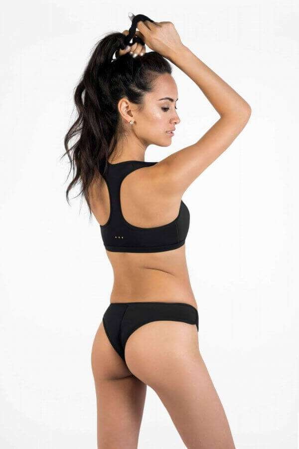 Cheeky Bikini Bottoms - Yulex Sustainable Fabric - SLO ACTIVE