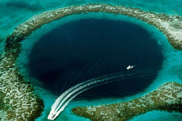The Blue Hole, Belize - Scuba Diving SLO active
