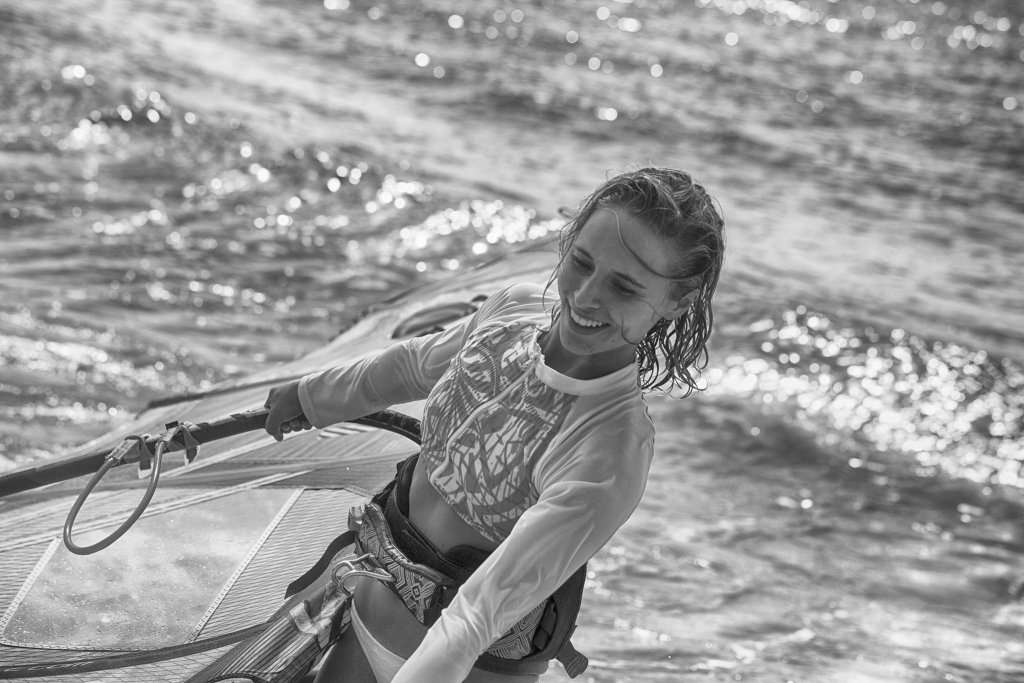 Sarah Hauser- The Fierce Windsurfer and Mover 2