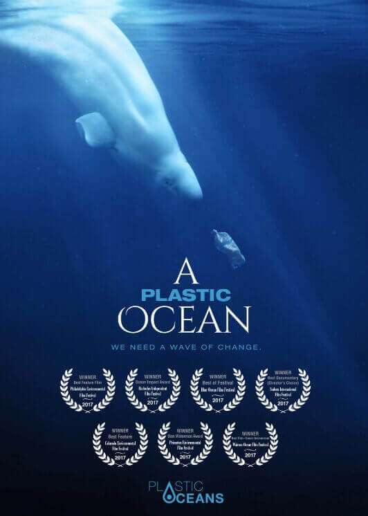 A Plastic Ocean poster- Debunking 5 myths
