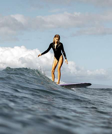 women surfing guide for beginners - SLO ACTIVE